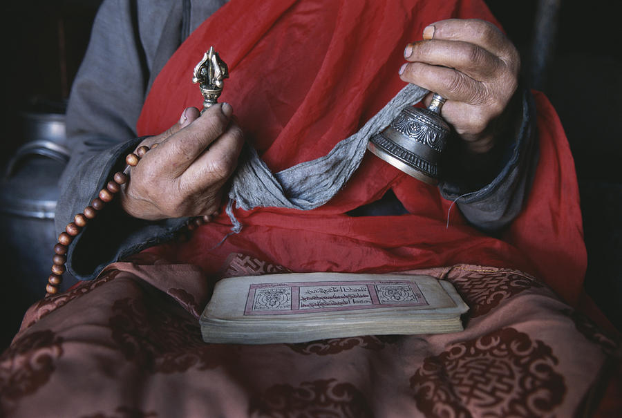 a-buddhist-lama-with-prayer-book-gordon-wiltsie