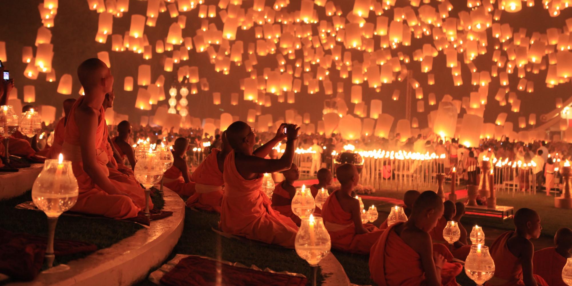 Loy Kratong - Floating Lantern Festival 1