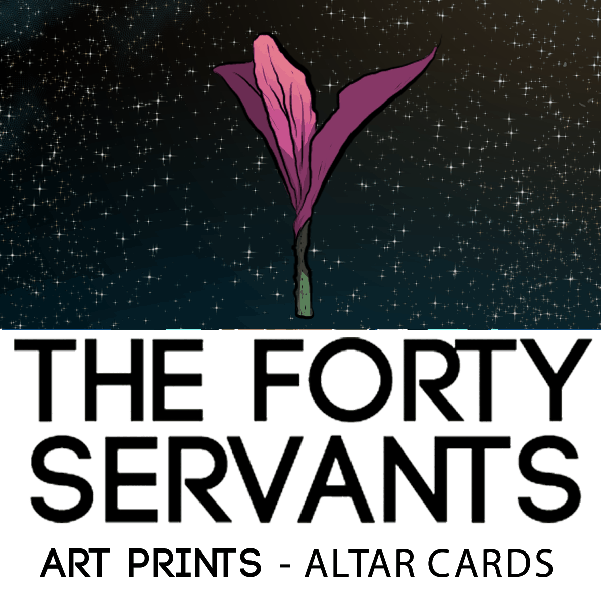 The Forty Servants Altar Cards Art Prints