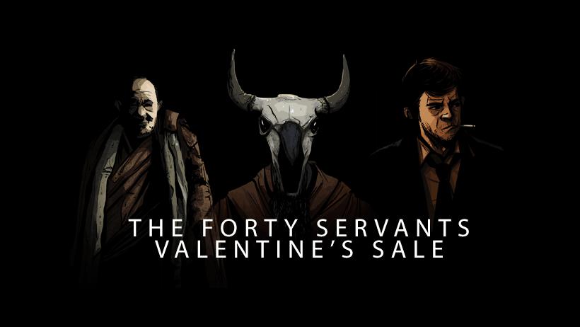 Forty Servants Sale